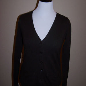 The Limited Brown cardigan sweater